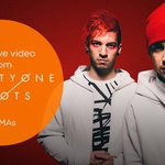Tune in to the #VMAs & @Shazam @twentyonepilots performance for an exclusive behind the scenes video!! http://t.co/AY2imZku6Q