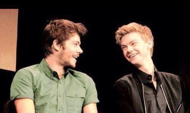 Dylan O'Brien and Thomas Brodie Sangster http://t.co/8tabKi10Ly
