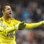Good morning! Yesterday wasnt bad was it? @LukaszFabianski looked pleased at the final whistle! #swans http://t.co/02SnHZ0bin