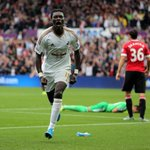 PHOTO: Four goals in four goals for @BafGomis - this photo says it all! #swans http://t.co/BLlQV6660n