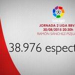 Asistencia al Ramón Sánchez-Pizjuán en el primer partido de la temporada en Nervión #SevillaFC #vamosmisevilla http://t.co/OHpmwG9WQ2