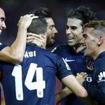 89   0-3   Muy cerca de lograr la segunda victoria en @LaLiga. #AúpaAtleti #SevillaAtleti http://t.co/mCKKlkzuPf