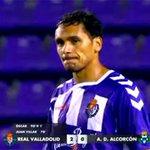 Final en Zorrilla. Los de Garitano suman la primera victoria gracias a los goles Juan Villar y Óscar. #VLLvADA http://t.co/wVSObvxpSw