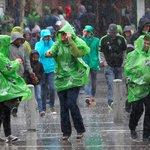 #Sounders fans brave rains en route to match against #Timbers. @SeaTimesSports @mattpentz #SEAvPOR http://t.co/0u98g7N3el