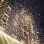 Snowing in the North End #boston #northend #stanthonysfeast @universalhub http://t.co/HDtbUUYeqC
