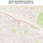 Reminder: SHERMAN CUT & ACCESS closed for ongoing rock scaling work. Full details: http://t.co/iUoDqxmUpA. #HamOnt http://t.co/7fCABQZweg