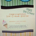 Come see us at the Purdue College of Agriculture Ice Cream Social on Wednesday September 2nd!!! http://t.co/qfsiFWtoH8