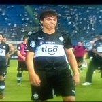El rostro de Zeballos al recibir los abucheos de preferencias http://t.co/GJL8IEsJwC