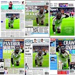 Looks like Monsieur Gomis, La Panthere du Swansea, is making quite a few of Mondays back pages. #Swans http://t.co/uoPjZGRttE