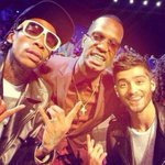 #TB | In honor of the VMAs tonight, throwback of Zayn at the 2013 VMAs with Juicy J & Wiz Khalifa! http://t.co/NYUHbkMNMn