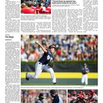 One of the @ydrcom inside sports pages devoted to #RedLandLL #LLWS @liziarbogast @k8penn @APSE_sportmedia #LLWS http://t.co/qJW3NJAwkh