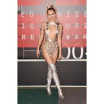 .@MileyCyrus stuns in head-to-toe #Versace at the #VMAs http://t.co/41ul68dL6b