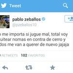 Este Zeballos es un loquillo. http://t.co/XPzqCdfrlE