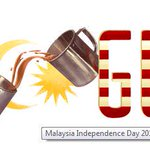 Happy 58th Independence Day my beloved country~ #Malaysia! proud to be Malaysian! Merdeka! Merdeka! Merdeka! http://t.co/7rFXHokuOd