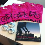 Thanks Jillian Woolmer of HealthBiz Consultancy #Perth for sending me the #VeloCity Perth #book + #cycling goodies http://t.co/tjLhhHYHv7