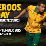 The Socceroos are in #Perth this wk so #TurnPerthGold!! Tomorrow, you can meet stars like @Tim_Cahill at @nibStadium. http://t.co/iu9XLvcbqU