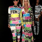 Amber Rose and Blac Chyna came as Instagram comments #VMAs http://t.co/2F8feH3w2u