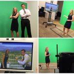 Its not easy being green (screen), unless youre @knovak616 who does great even w/ random distractions #tvweather http://t.co/J6S32ADcjc