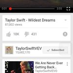 #WildestDreamsMusicVideo now up on @vevo lets break the record! @taylornation13 http://t.co/Dls2cA9mIz http://t.co/i6tEooXWYr