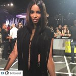 GORGEOUS #Repost of @Ciara from @Billboard on the @MTV #VMAs red carpet! ・・・ @ciara is stunning! #VMAs http://t.co/ffdVlnW6Jh
