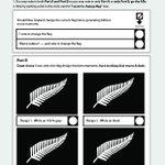 NZ Flag referendum voting paper leaked. http://t.co/bm7vXpNl5A