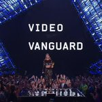 Taylor is on stage presenting @kanyewest with the Michael Jackson Video Vanguard Award #VMAs http://t.co/V65cK5hzCe