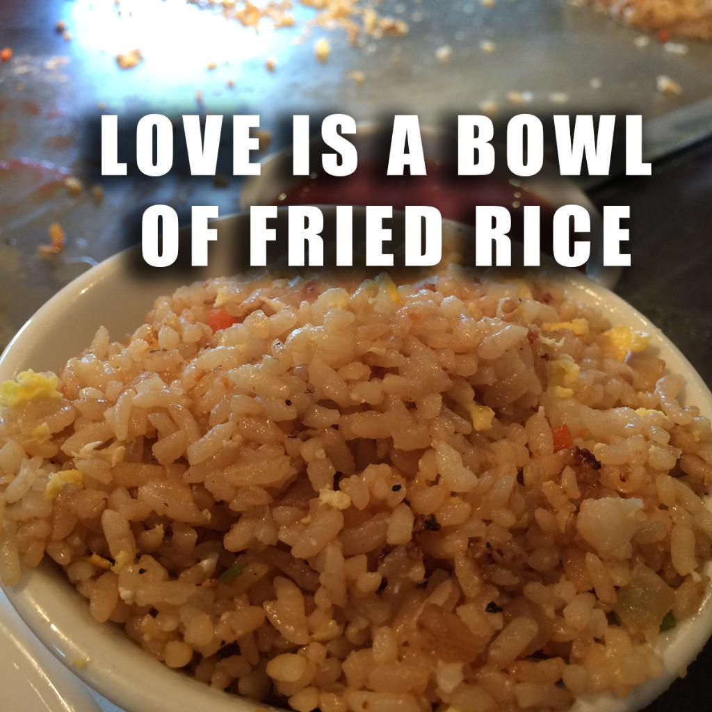 Spread the love! #FriedRice http://t.co/i0ZrTEIV20