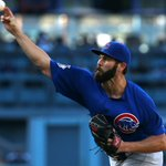 NO-HITTER! Cubs pitcher Jake Arrieta throws his first-career no-hitter against the Dodgers. http://t.co/rK7nKWqRj7 http://t.co/vjgln0rUdB