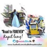 ROAD TO FOREVER! Kapit lang @aldenrichards02 @mainedcm Magkita kaya sila sa dulo ng FOREVER? #ALDUBTheREVELATION http://t.co/Y0e0RnvHLp