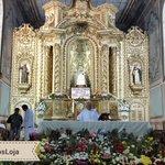 #Loja   Las eucaristías en honor a la sagrada imagen se las realiza todos los días en la Iglesia la Catedral. http://t.co/3FptbYeMu8