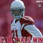 RT @ESPNNFL: FINAL: Cardinals beat the Raiders, 30-23. #AZvsOAK