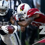 Final. Raiders fall to the Cardinals, 30-23. http://t.co/EnfFZsWu4q