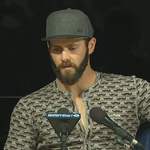 Jake Arrieta is now addressing the media #LIVEonESPN ... in mustache pajamas. http://t.co/46u4PC16yo
