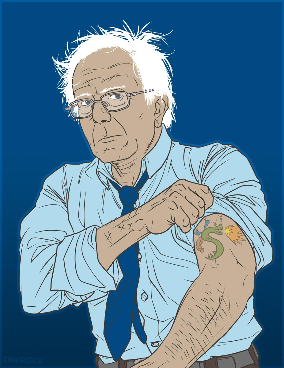 Throwing my support to @BernieSanders with this piece. Let's do it guys. http://t.co/UnDO7qOcdx