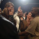 Taylors face during @kanyewests speech was everything tonight, lets be real ???? #VMAs http://t.co/e6EScub7A3