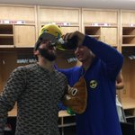 Congrats to the snake!! What a performance @JArrieta34 http://t.co/gbZoBb4RzG