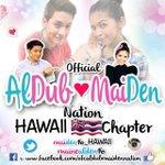 SHOUTOUT Official ALDUB|MAIDEN Nation HAWAII CHAPTER Follow and join @maiden16_HAWAII .. #ALDUBTheREVELATION http://t.co/RlwaCsmNiq