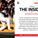 RT @HarperCollinsIN: Know about the upper hand lefties enjoy & other #sport trivia @cricketaakash 's 'The Insider' http://t.co/z8rY3qLcz0 h…