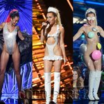 Here is a recap of ALL of @MileyCyrus looks at the #VMAs, which were so fun! http://t.co/DzTI5Vstjk http://t.co/dg5hUBT5ik