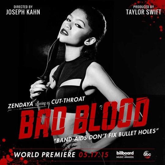 Happy birthday, Zendaya! Here she is as Cut-Throat in Taylor Swift\s Bad Blood Music Video