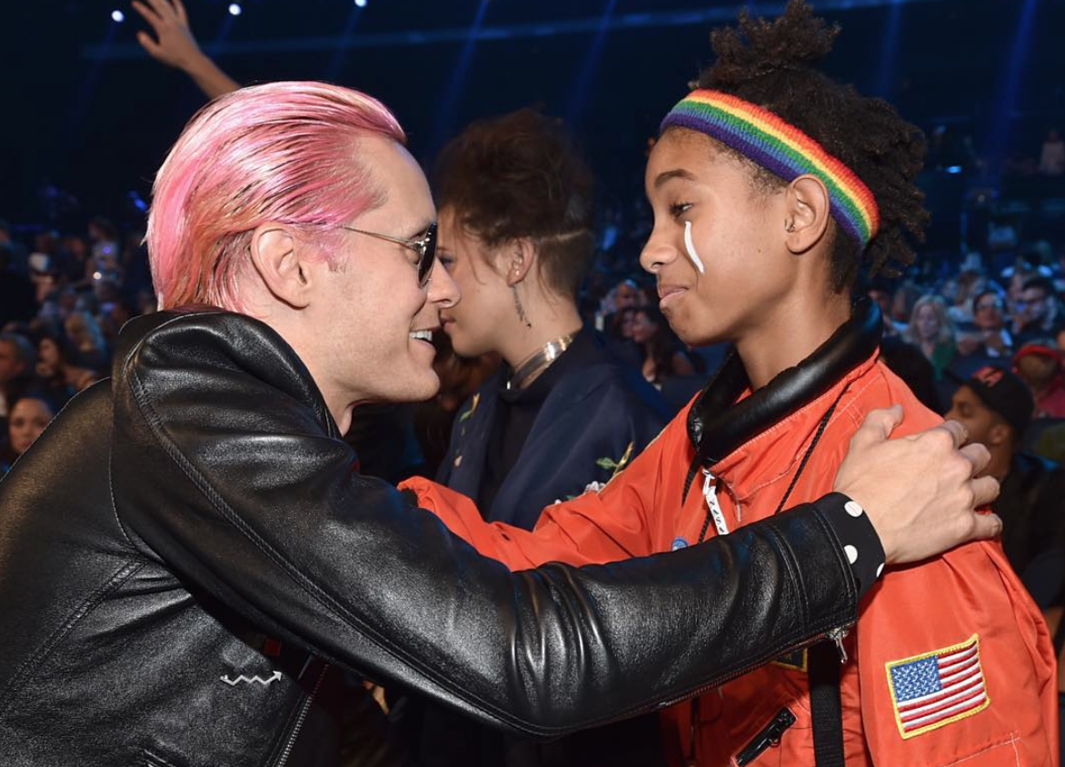 RT @MTV: A very special #VMA moment between @JaredLeto + @OfficialWillow: https://t.co/brqKqY2Lnt http://t.co/zj9peo79ua