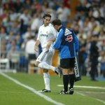 """صور   سيرخيو راموس - 10 سنوات في ريال مدريد. """"أول مُباراة له ضد سيلتا فيغو"""". http://t.co/rVB6Wuf4Wo"""
