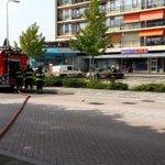 Gaslekkage bij de AH aan de Reeweg in Hendrik-Ido-Ambacht. Brandweer ter plaatse. Zgn. SchuimBlusvoertuig onderweg. http://t.co/C8WvJFKeeX