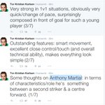 Former Monaco sporting director/ex-scout Tor-Kristian Karlsens thoughts on Martial: http://t.co/bnViTISMQG