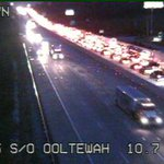 DETOUR ADVISED AT THE OOLTEWAH EXIT. Jump over to Hwy 58 or take Lee Hwy to #CHA. Expect slow #traffic both ways! http://t.co/DwUaw4wUuy