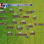 Pretty nice, even warm in some areas this morning as you head out the door. #cowx http://t.co/XEfXTb7POM