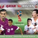 الوعد في ملعب السد يوم الخميس القادم الساعة 7:00 م مع مباراة منتخبنا الوطني ومنتخب بوتان ضمن تصفيات #كأس_العالم #QFA http://t.co/WkiDoL9r5H