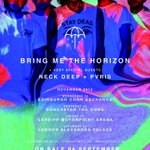 Just announced - UK dates with @bmthofficial & @ThisIsPVRIS in November. Tix on sale Sep 4. http://t.co/oeebnIPHh2