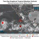 Pacífico: H #Jimena lejos del país y #97E  prob amenaza p/#BCS. Atlántico: #Fred ahora como huracán golpea #CaboVerde http://t.co/GARDTXCsPZ