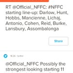 What a difference a year makes... @Official_NFFC #NFFC http://t.co/DODHJoUqga